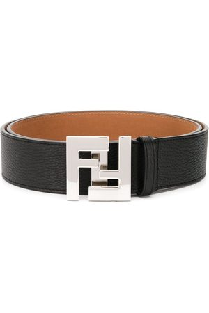 Fendi Logo buckled belt
