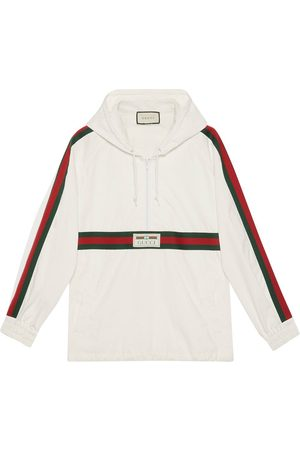 Gucci Logo label windbreaker