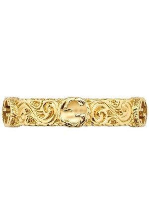 Gucci 18kt yellow Interlocking G ring