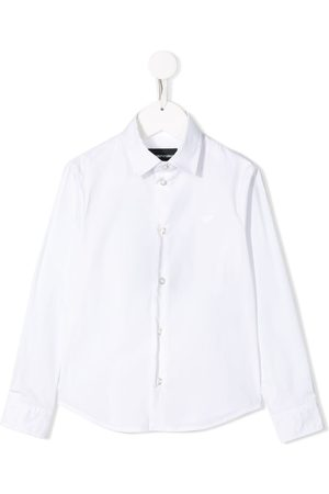 Emporio Armani Embroidered logo shirt
