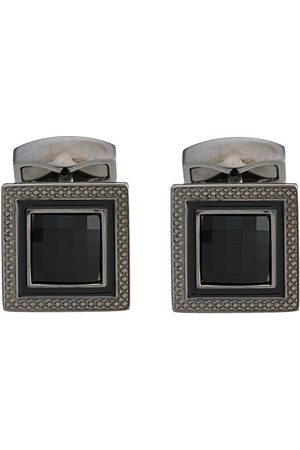 Tateossian Stone-centre cufflinks