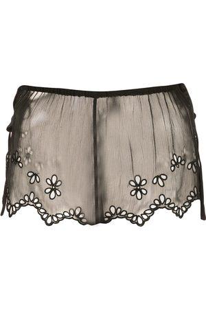Kiki de Montparnasse Sheer lace shorts