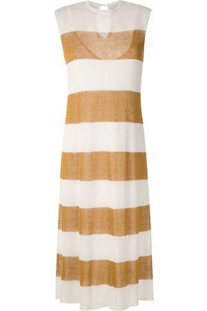 OSKLEN Stripes knit midi dress