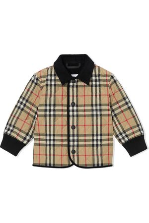 Burberry Vintage Check diamond quilted jacket