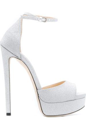Jimmy choo Max 150mm glitter sandals