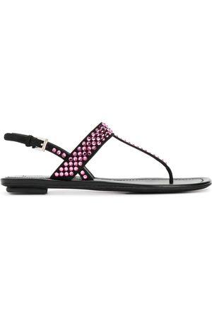 Prada Crystal embellished sandals