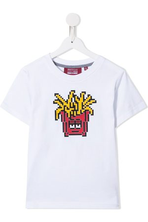 MOSTLY HEARD RARELY SEEN Fries print cotton T-shirt