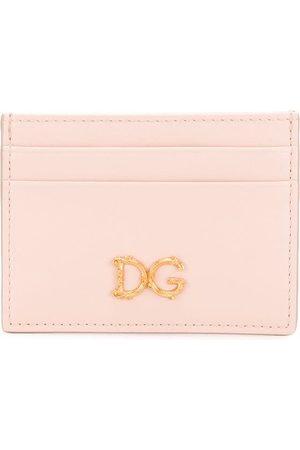 Dolce & Gabbana D&G baroque logo card holder