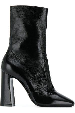 Saint Laurent Square toe 100mm ankle boot