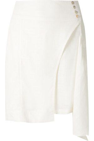 Olympiah Ylang asymmetric short skirt
