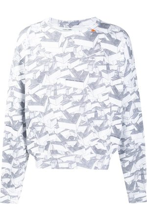 OFF-WHITE All-over arrow print sweatshirt