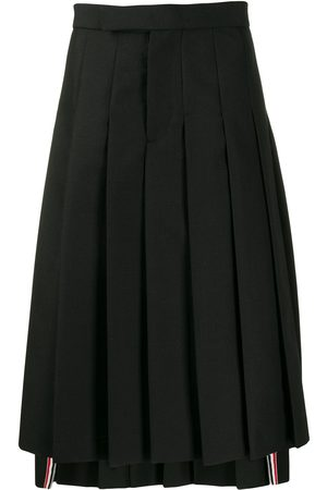 Thom Browne Classic Rise Pleated Skirt