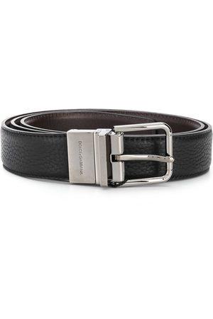Dolce & Gabbana Homem Cintos - Buckle leather belt