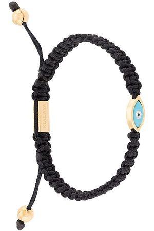 Nialaya Homem Pulseiras - Evil Eye string bracelet