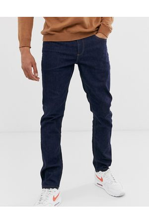 ASOS Stretch slim jeans in indigo-Blue