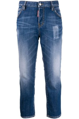 Dsquared2 Senhora Slim - I Love D2 slim-fit jeans