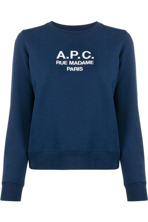A.P.C Logo knitted top