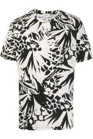 Saint Laurent Abstract print crewneck T-shirt