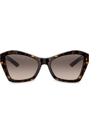 Prada Geometric shaped sunglasses