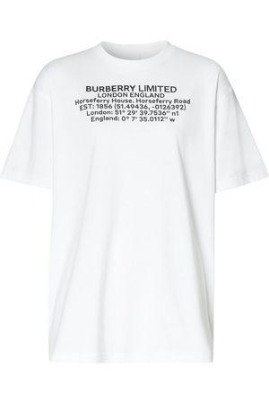 Burberry Text print T-shirt