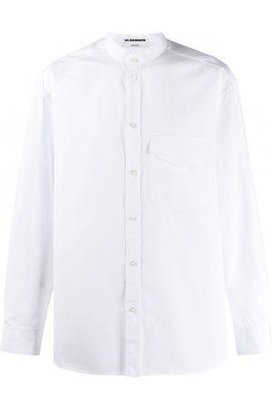Jil Sander Mandarin collar shirt