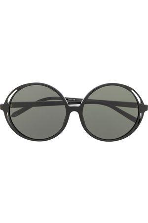 Linda Farrow Circle frame sunglasses