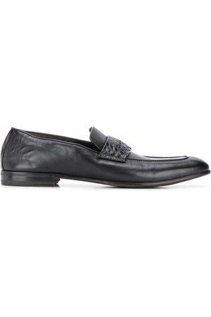 Ermenegildo Zegna Crocodile-effect loafers