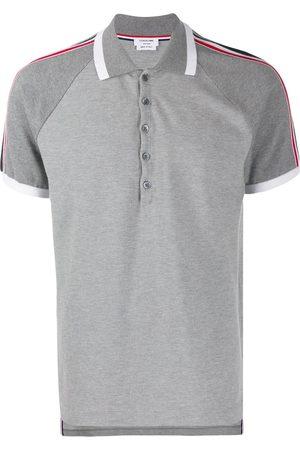 Thom Browne Striped sleeve polo shirt
