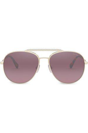 Miu Miu Tinted aviator sunglasses