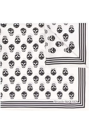 Alexander McQueen Homem Cachecóis & Echarpes - Biker Skull print scarf