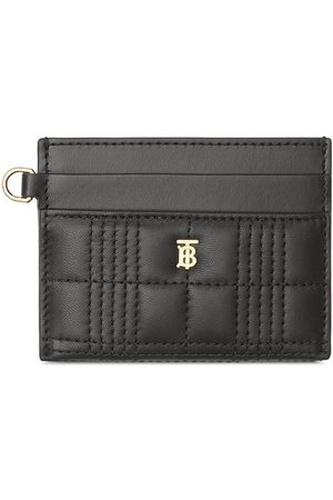 Burberry Monogram motif quilted card holder