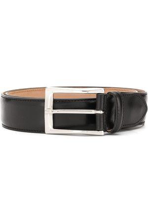 Scarosso Homem Cintos - Classic square buckle belt