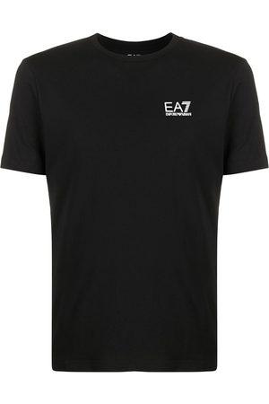 EA7 Logo print crew neck T-shirt