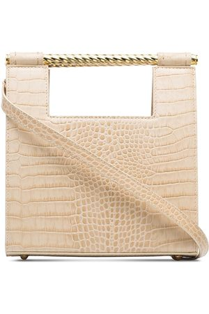 Mehry Mu Unicorn crocodile-effect tote bag