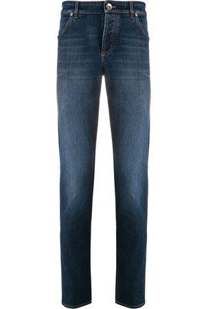 Brunello Cucinelli Homem Slim - Slim-fit stonewashed jeans