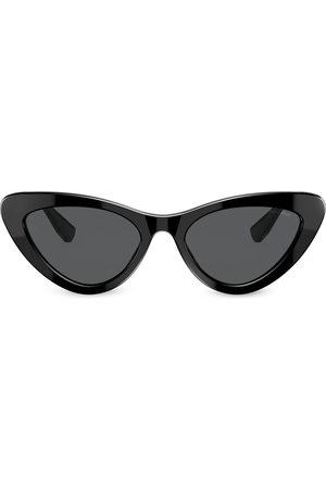 Miu Miu Shiny-effect cat-eye sunglasses