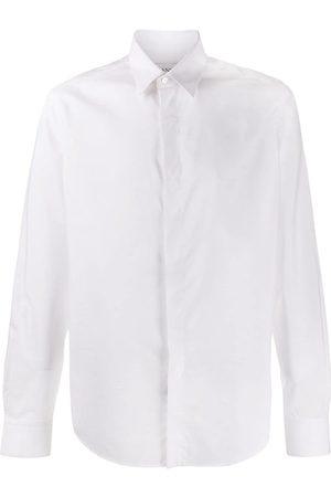 Lanvin Homem Formal - Concealed placket shirt