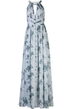 Marchesa Notte Senhora Vestidos de Festa - Chiffon open back bridesmaid gown