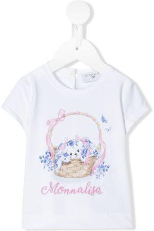 MONNALISA Bunny print T-shirt