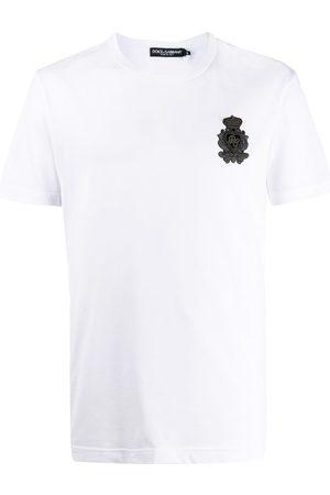 Dolce & Gabbana Crest logo-patch T-shirt