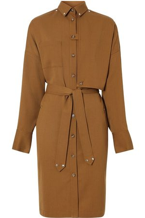 Burberry Belted shirt dress