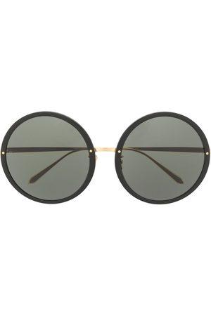 Linda Farrow Circular oversized sunglasses