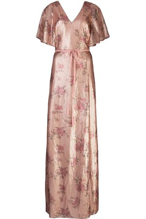 Marchesa Notte Bridesmaids Sequin embellished long dress