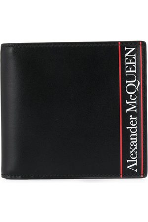 Alexander McQueen Homem Bolsas & Carteiras - Striped detailed logo wallet