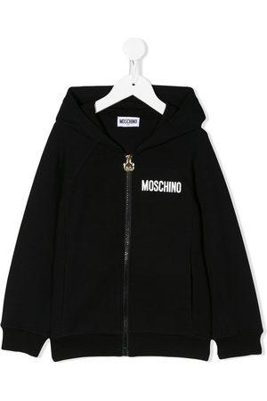 Moschino Menina Camisolas com capuz - Toy bear print hoodie