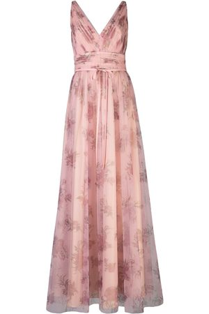 Marchesa Notte Tulle floral bridesmaid gown