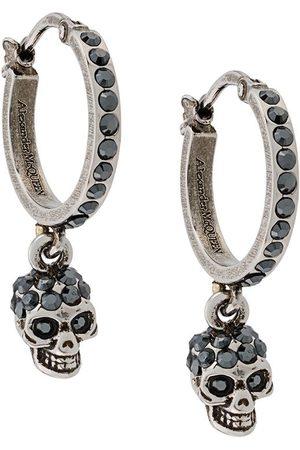 Alexander McQueen Skull drop earrings
