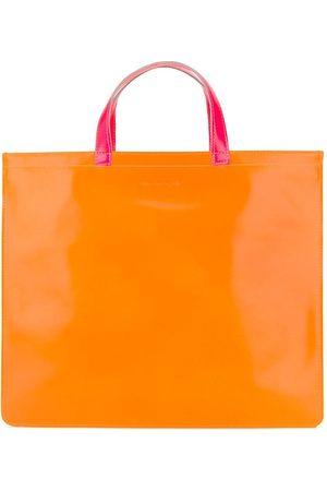 Comme des Garçons Colour-block tote bag