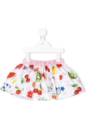 Monnalisa Fruit print full skirt