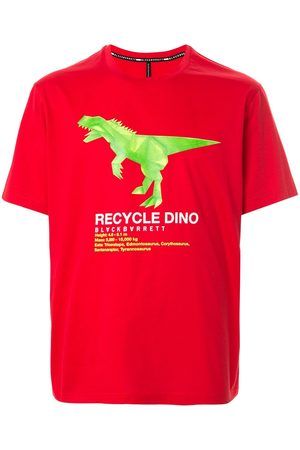 Blackbarrett Recycle dino' cotton T-shirt